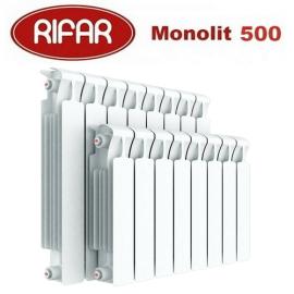 Биметаллический радиатор Rifar Monolit 500 11 секции 3/4