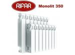 Биметаллический радиатор Rifar Monolit 350 4 секции 3/4