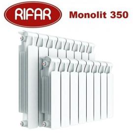 Биметаллический радиатор Rifar Monolit 350 12 секции 3/4