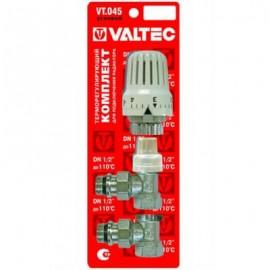 Комплект терморегулирующего оборудования для радиатора угловой 1/2
