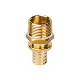 Переходник с наружной резьбой для труб из сшитого полиэтилена 16хR3/4 Stout