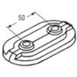 Декоративная накладка Rehau Rautitan для 2 труб,для труб Rautitan stabil/flex/pink