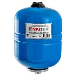 Баки мембранные для систем водоснабжения 8 л Valtec