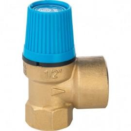 Предохранительная клапан г-г для холодной воды 1/2 3bar TIM
