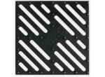 Решетка алюминевая для дождеприемника 280х280