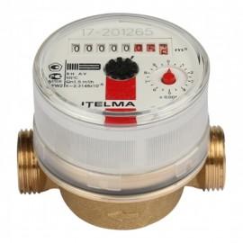Счётчик для горячей воды Itelma 1/2х80 мм без сгонов