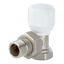 Клапан ручной терморегулирующий, угловой 3/4STOUT