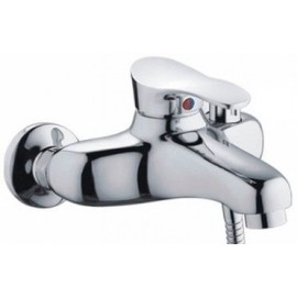 """Смеситель для ванны с коротким гусаком ф 40 """"FRAP"""" F3201"""
