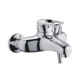 """Смеситель для ванны с коротким гусаком ф 40 """"FRAP"""" F3204"""