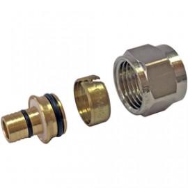 STOUT Фитинг компрессионный для труб PEX-AL-PEX 16х2,6х3/4