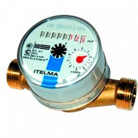 """Счетчик для холодной воды ITELMA 1/2"""" Ду=15, L=110 мм без штуцеров"""